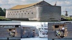 """""""Arca de Noé"""" se envolve em acidente na Noruega. Notícias Bizarras, vid..."""