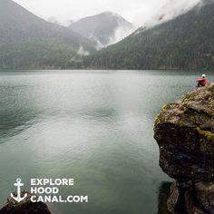 The best spot on Lake Cushman. More beauty on our Instagram: https://instagram.com/explorehoodcanal
