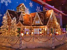 Great places to see gingerbread houses