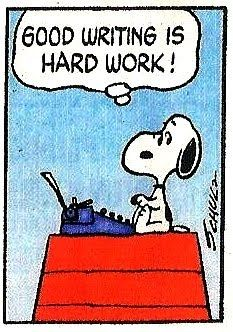 Snoopy writing                                                                                                                                                                                 More