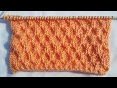 Easy Single Color Knitting Pattern No.90 |Hindi - YouTube
