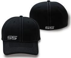 f27bd3609db Chevrolet SS Black Flex Fit Hat New Fashion 2017