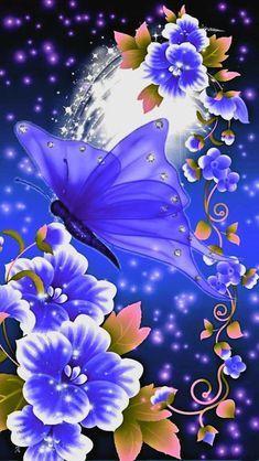 Iphone wallpaper – Iphone wallpaper hd – Graffiti World Beautiful Flowers Wallpapers, Beautiful Nature Wallpaper, Pretty Wallpapers, Beautiful Butterflies, Butterfly Wallpaper Iphone, Wallpaper Iphone Love, Cellphone Wallpaper, Butterfly Pictures, Butterfly Art