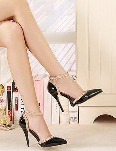 Elegant Black Color Stylish Heels