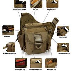 Military Outdoor Tactical Bag Camping Travel Hiking Bag