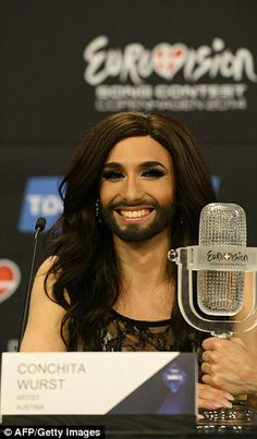 eurovision-winning drag queen returns in triumph