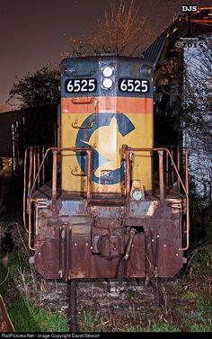 RailPictures.Net Photo: GRWR 6525 Great Walton Railroad EMD GP9 at Athens , Georgia by David Stewart