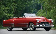 1948 Cadillac Series 62 Convertible Coupe.