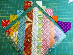 Strip Piecing Tutorial – Just Jude Designs – Quilting, Patchwork & Sewing patterns and classes – Sabrina Reinhardt Quilting For Beginners, Quilting Tutorials, Quilting Projects, Quilting Designs, Beginner Quilting, Quilting Tips, Craft Projects, Strip Quilt Patterns, Patchwork Quilt Patterns