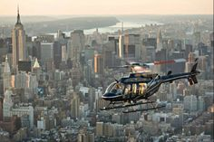 Ride a helicopter