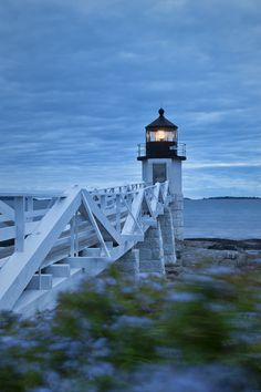 I used to visit this weekly...just sit and take in the beautiful Atlantic.  vvv Marshall Point Lighthouse, Maine