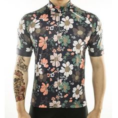 Cycling Jersey for Men (Bicycle Clothing, Bike Wear) (Available in 6 Sizes)