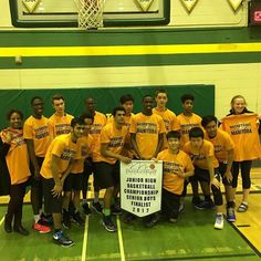 Acadia Axemen - Junior High Basketball Championships - Sr Boys Finalists