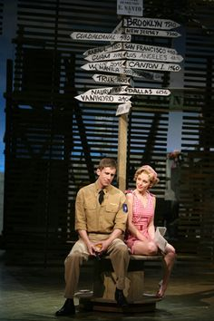 South Pacific - I just love this one!  So many wonderful songs!  Terrific, classic Rodgers and Hammerstein musical!