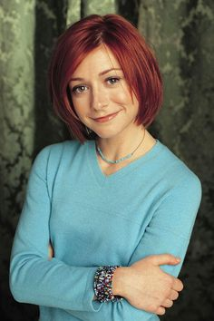 "Alyson Hannigan as Willow Rosenberg | The Cast Of ""Buffy The Vampire Slayer"": Then Vs. Now"