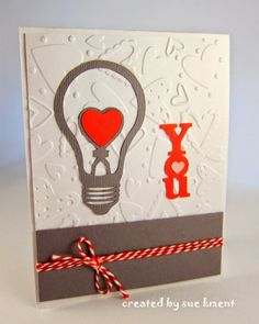 You Light Up My Life cute card idea