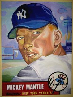 1953: Mickey Mantle sets records in baseball