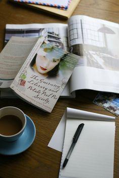 coffee, a novel, letters and stationery | Lisa Hjalt
