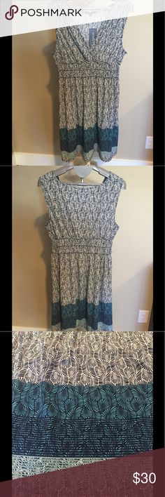 "💠MAX EDITION SUMMER DRESS NWT💠 NWT Max Edition cute and stylish summer dress. It is sleeveless with a v-neck and gathered waist. Hits middle of knee. 36"" from top of shoulder to bottom of hem and 21 1/2"" from bottom of waist to hem. 95%poly & 5% spandex. Cute with flats or heels Max Edition Dresses"