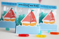 Under A Cherry Tree: you FLOAT my BOAT!