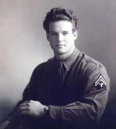 Steve Reeves: After graduating from high school, enlisted in the Army during World War II, and served in the Philippines. Later became body builder and played Hercules.
