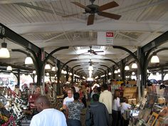 French Quarter, New Orleans, Louisiana: French Market
