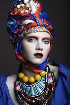 Chapeau foulard
