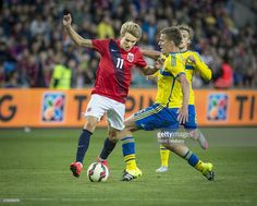 Martin Odegaard of Norway during the International Friendly match between Norway and Sweden at Ullevaal Stadion on June 8, 2015 in Oslo, Norway.