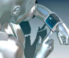 WWPC, Wrist, Worn, Personal Computer, Eurotech, gadget, future, futuristic, device, concept, pc
