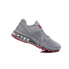 Nike Air Max 2013 Gri Kırmızı Erkek Ayakkabı