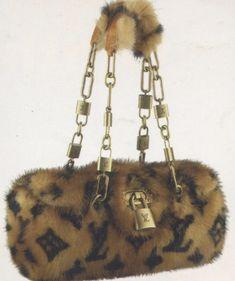 Louis vuitton handbags – High Fashion For Women Gucci Handbags, Louis Vuitton Handbags, Purses And Handbags, Luxury Purses, Luxury Bags, Retro, Fur Bag, Fur Purse, Cute Purses