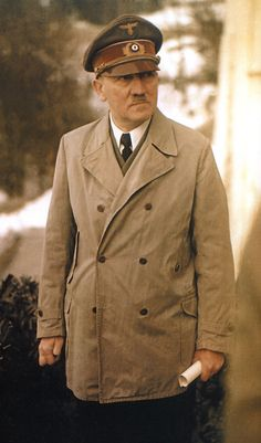""" Hitler near the end of World War II ""."
