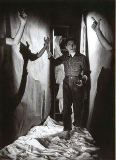 Portrait of Jean Cocteau Orphée by Philippe Halsman, 1949 © Philippe Halsman/Magnum Photos