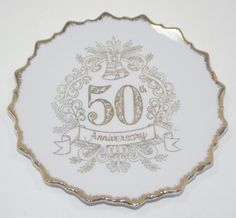 Vintage Golden 50th Anniversary Decorative Wall Plate by Made in Japan, http://www.amazon.com/dp/B0095WO0Z0/ref=cm_sw_r_pi_dp_GgJrqb1EJBAB2