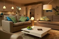 Philips hue, LED lamps are software integrated with iOS devices.