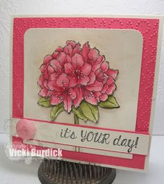 Stampin' Up! Best Thoughts, Sweet Sunday....It's Your Day!