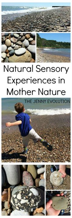 How to Find Natural Sensory Experiences Outdoors - Tips on Getting Creative with your Children!