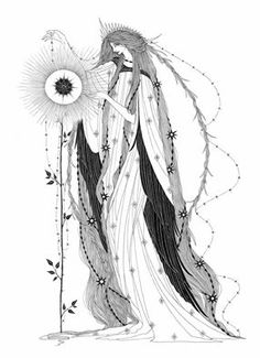 Marina Mika Illustration 17 November at 10:07 · The Nightingale and the Rose