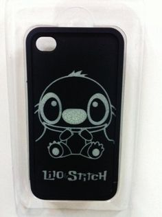 Disney Lio Stitch Hard Case for iPhone 4 4S 4G Back Skin Cover Case (it GLOWS at night!) by More stitch, http://www.amazon.com/dp/B008SK7D5Y/ref=cm_sw_r_pi_dp_ltn4qb1GB0KQ6