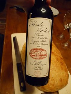 Mini Weekend Wine Review: 2007 Monte Antico Toscana