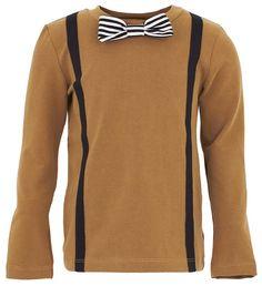 Bang Bang Copenhagen Khaki Long Sleeve T-Shirt | AlexandAlexa