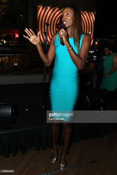 WNBA Lisa Lesile attended the 4th Annual Champions For Choice In Education Pre-ESPY Event at Luxe Hotel on July 13, 2015 in Los Angeles, California.  (Photo by Leon Bennett/Getty Images)