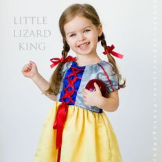 I like the simple version for the Snow White sleeves in this pattern. Download Princess Dress Sewing Pattern, Girls 12m-12 Sewing Pattern | Clothing Creation Sewing Patterns for Download | YouCanMakeThis.com