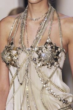 Jean Paul Gaultier at Couture Spring 2006.