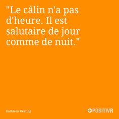 """""""Le câlin n'a pas d'heure. Il est salutaire de jour comme de nuit.""""  .Kathleen Keating #câlin #hug #citation #citations #france #quote #followme"""