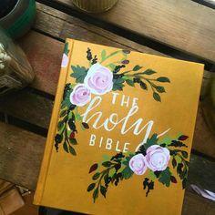 Beautiful hand painted Hosanna Revival bibles