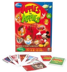 Amazon.com: Disney Apples To Apples - The Game Of Goofy Comparisons: Toys & Games