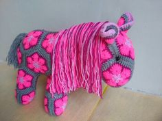 http://www.ravelry.com/patterns/library/fatty-lumpkin-the-brave-african-flower-pony-crochet-pattern