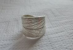 April Photo Project: Homemade  Art Clay Silver Leaf Ring