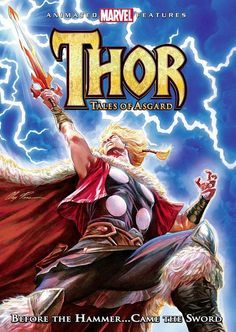 Thor Animated Movie: Tales of Asgard (2011)